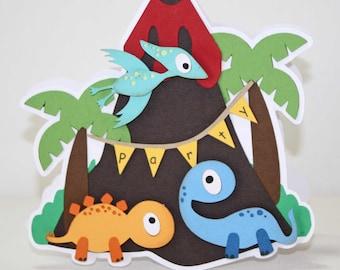Dinosaur birthday party - dinosaur invitation, dino party, dinosaur birthday, invitations, set of 12