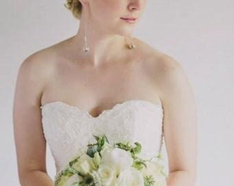 Custom Wedding Jewelry, Bridal Jewelry, Bridesmaid, Nature Wedding, Custom Earrings, Bridesmaids Gifts