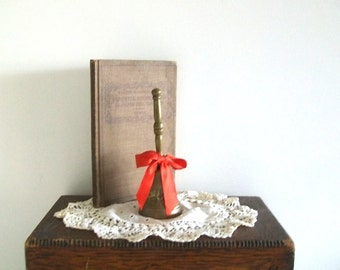 Vintage Solid Brass Hand Bell