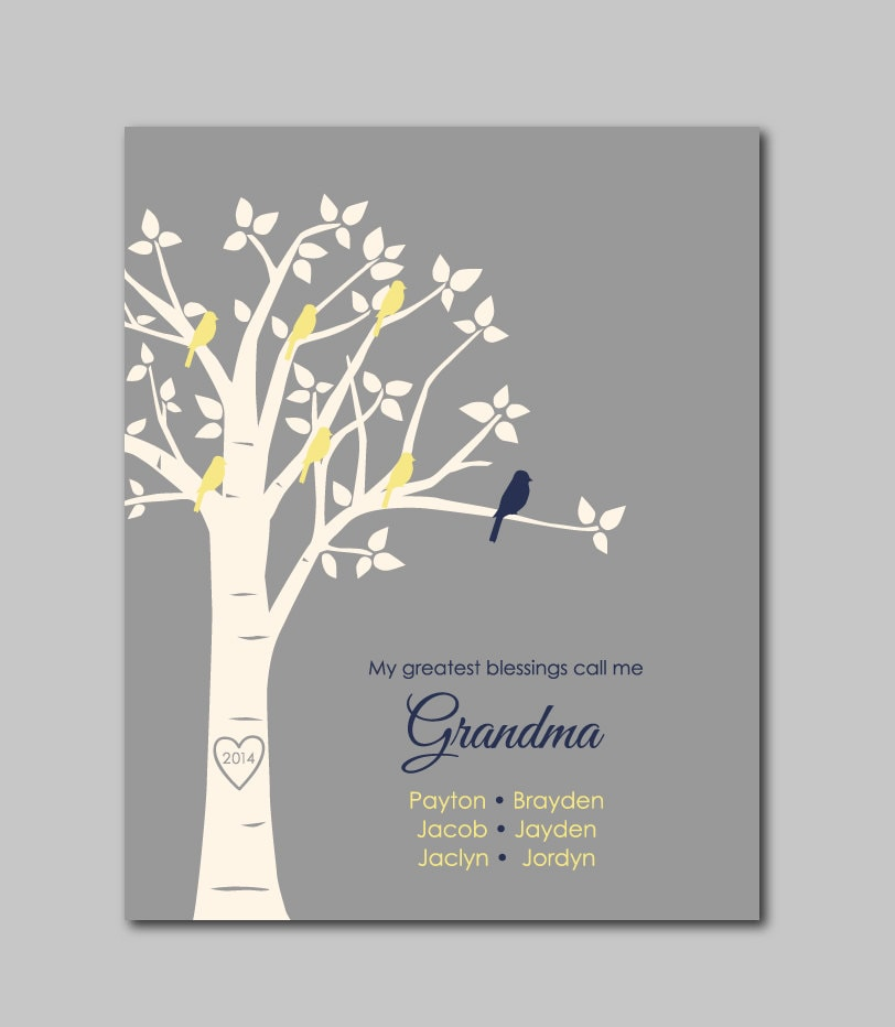 My Greatest Blessings Call Me Grandma Mother's Day Gift