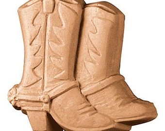 Cowboy Boots Soap, Cowgirl Soap, Novelty Soap, Bath Soap, You pick scent & color