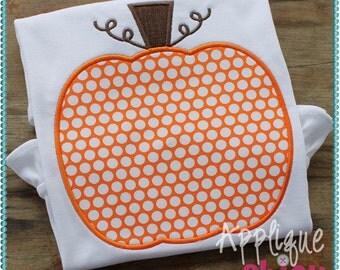 Pumpkin 2 Applique Design