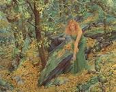 Autumn Maiden 8.5x11 Signed Print