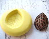 SEED POD - Flexible Silicone Mold - Push Mold, Jewelry Mold, Polymer Clay Mold, Resin Mold, Craft Mold, Food Mold, PMC Mold