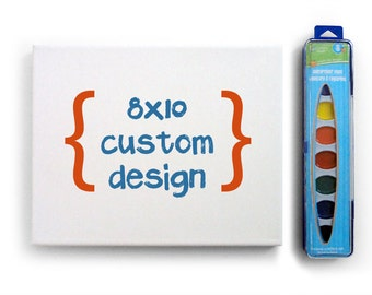 CUSTOM 8x10 Large Paint-Your-Own Kit