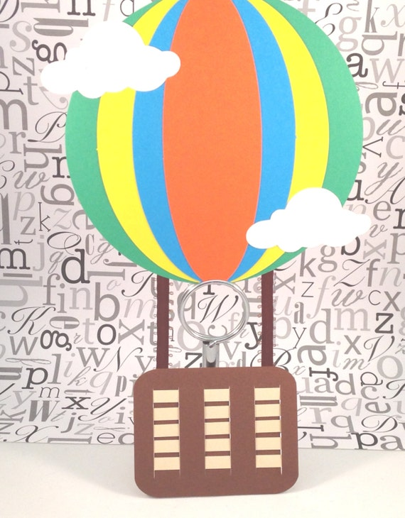 hot air balloon craft kit for kids birthday party favor decoration