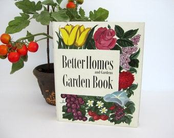 Vintage Better Homes and Gardens Garden Book 1954 How To Illustrations Binder
