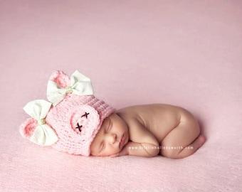 Baby Pig Hat