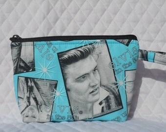 Elvis Makeup Bag