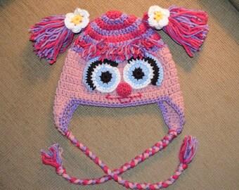 Crochet Abby Cadabby Hat for Girls