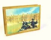 Unused Vintage 1950s Paris Match Box Versaille Matches Jewelry