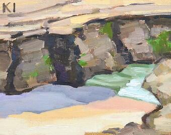 Windansea Beach, La Jolla Landscape Painting