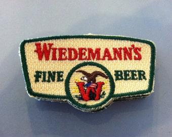 Vintage Wiedemann's Fine Beer Small Patch