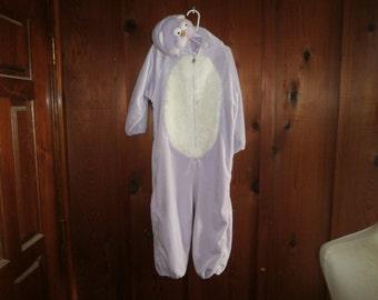 Halloween Costume Cat Purple size 3-5 T circa 1995