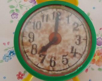 Vintage Clock Pencil Sharpener .80s