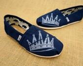 Crown TOMS Shoes