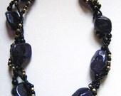 Amethyst Braid Necklace