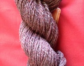 Merino Silk Purple Hand Spun yarn from Colorado