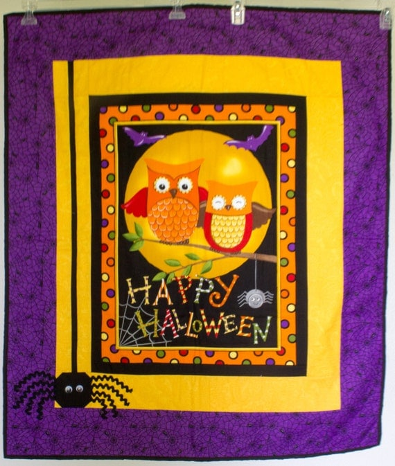 "Happy H""owl"" oween Wall Hanging"
