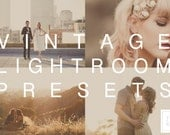 Adobe Lightroom 4 & 5 Preset Vintage Lover Sun-Kissed Warm Film Wedding / Fashion photography