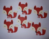 Woodland Animal Die Cuts - Fox - Set of 6