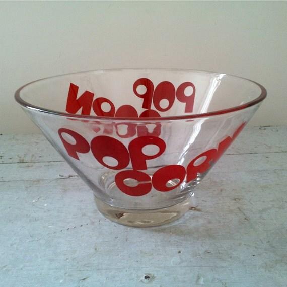 Vintage Popcorn Bowl 81