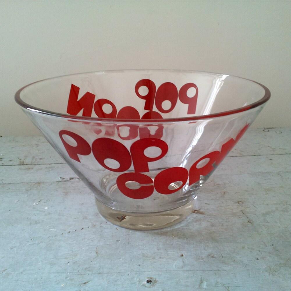 Vintage Popcorn Bowls 113