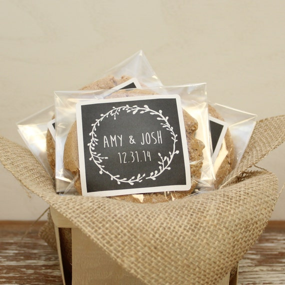 Wedding Favor Bags Cellophane : ... Laurel Chalkboard LabelChalkboard Wedding Favor, Wedding Favor Bag
