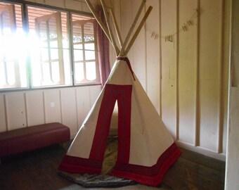 Kids Tipi / Teepee / Wigwam / Play tent