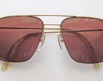 1990s Aviator Frames by LOGO, Paris. Made in France
