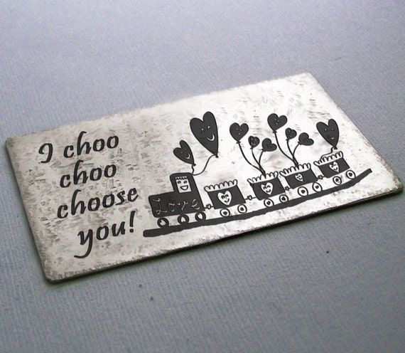 how to make i choo choo choose you card