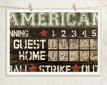 Popular Items For Scoreboard On Etsy