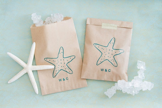Wedding Favor Bags Beach : Beach Wedding Favor Bags - Beach Wedding Bags - Tropical Wedding ...