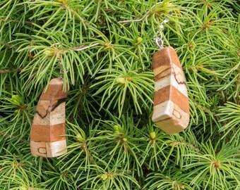 Wooden earrings MIX