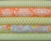 Sweet As Honey Fat Quarter Bundle of 5 by Bonnie Christine for Art Gallery Fabrics