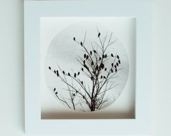 Art for lovers, Valentine print, heart etching