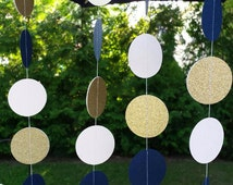 Navy and gold  party decorations, navy decorations, navy wedding decorations, nautical wedding decorations.