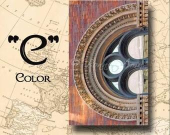 Letter C Alphabet Photography Color 4 x 6 Photo Letter Unframed