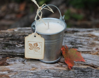 Maple Sap Bucket Candle 2oz-Vermont Cottage Candles
