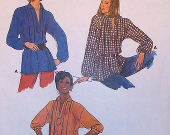 6755 Butterick Sewing Pattern / Vintage 1970's Blouse Pattern / Vintage 70's Top