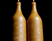 NEW Beeswax Candle - XXL Bartender's Brew - Bottle/ Jar Shaped. 1900's Lg.