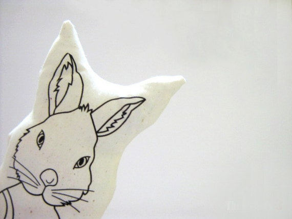 Julié, a educated bunny / Paper Dolls Patterns / DIY Sew / Xmas Gifts /  Beginner Sewing / Lovely Gifts