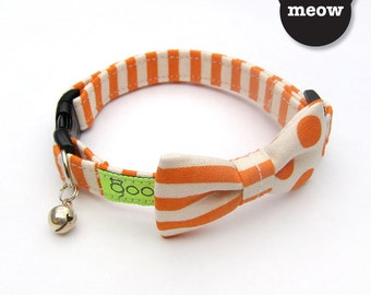 Smarty - Combi Orange Julius GOOOD Cat Collar