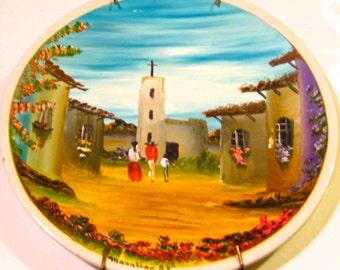 Take 20% Off Vintage Bright Anfora Scenic Mazatlan Mexican Plate