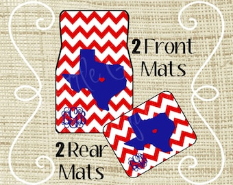 Personalized Car Mats, Car Mats, Custom Car Mat, Monogram Car Mat, New Driver Gift, Car Floor Mats, Car Accessories, Sweet 16 Gift, Chevron Personalized Car Mats Car Mats Custom Car Mat Monogram Car - 웹