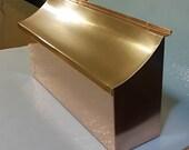 Flush Mount Copper Mailbox