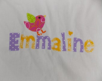 Personalized Pillowcases-Monogrammed Summer Camps Slumber Parties Birthday Parties