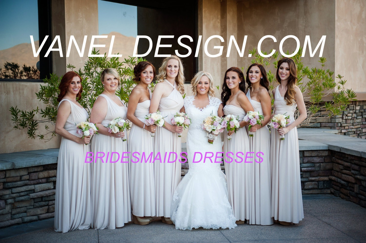 Rush order cost infinity dress bridesmaids dresses wrap zoom ombrellifo Image collections