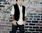 "Valentine Slouchy Beanie ""Mama's Boy"" Tattoo Inspired Hat"