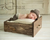 Baby Boy Coming Home Outfit Bow Tie, Crochet Fedora Hat, Pants, Baby Boy, Hospital Pics, Photo Prop, Baby Boy Outfit
